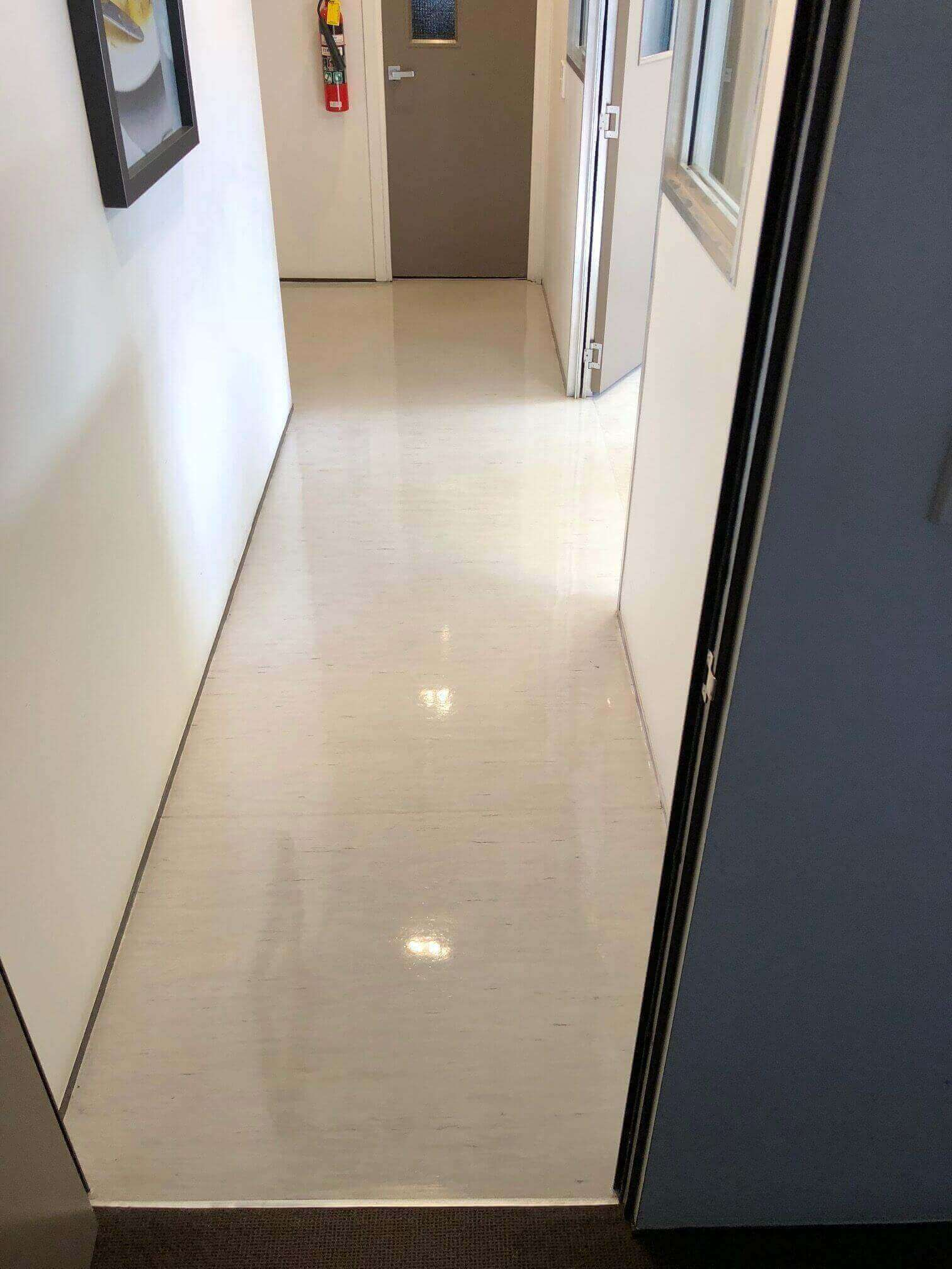 how to clean lino floors